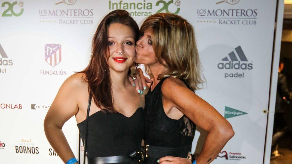 Foto:  Zayra y su madre, Arantxa de Benito. (Cordon Press)