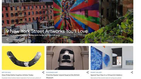 El Día Internacional de los Museos a través de una 'app': Google te acerca a 80 galerías