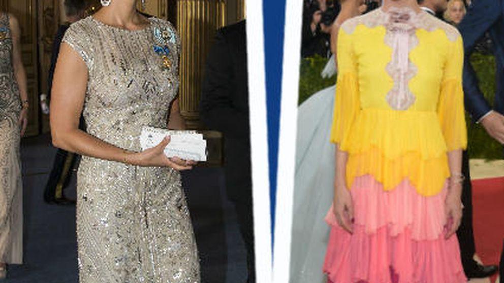 Estilo Real: Rania y Carlota fracasan en el MET y Magdalena brilla en Suecia