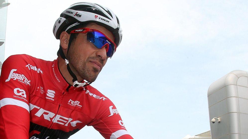 Foto: Alberto Contador ha estado estos días en el Tour de Abu Dabi (Matteo Bazzi/EFE).
