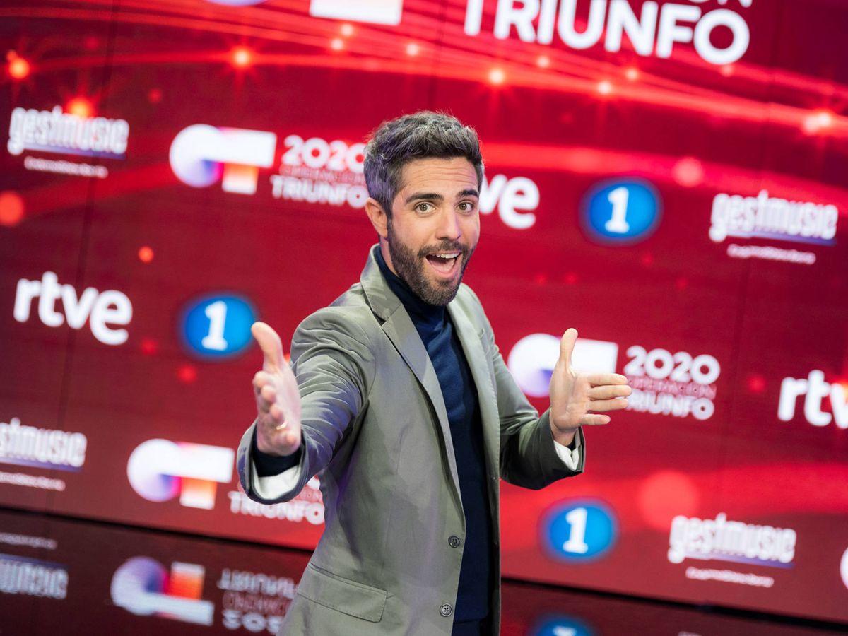 Foto: Roberto Leal, presentador de 'OT 2020'. (RTVE)