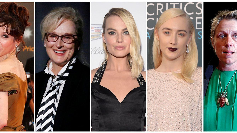 Foto: Las nominadas como mejor actriz. (Reuters)