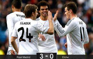 El Real Madrid despierta a tiempo de la siesta para subir a lo más alto