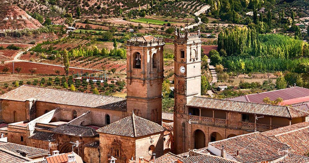 Foto: Alcaraz y sus dos torres. (Cortesía Turismo Castilla-La Mancha)