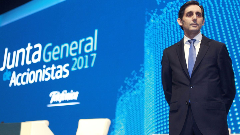 El presidente de Telefónica, José María Álvarez-Pallete. (EFE)
