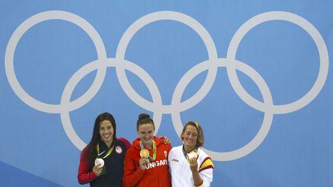 Mireia Belmonte inaugura el medallero en una exhibición prodigiosa de Hosszú