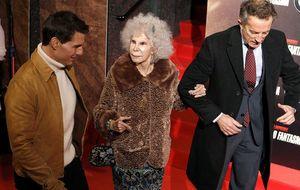 Foto: La duquesa de Alba, con Tom Cruise en el estreno de Misión Imposible