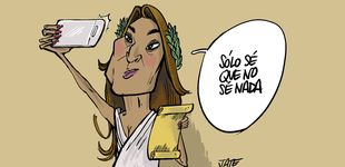 Post de Raquel Bollo ahora es filósofa