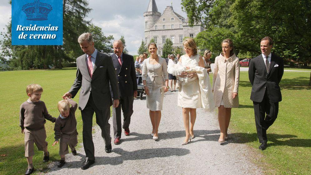 Foto: El palacio de Ciergnon. (Cordon Press)