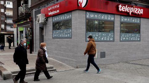 Telepizza deja de pagar el alquiler de sus locales por problemas de liquidez