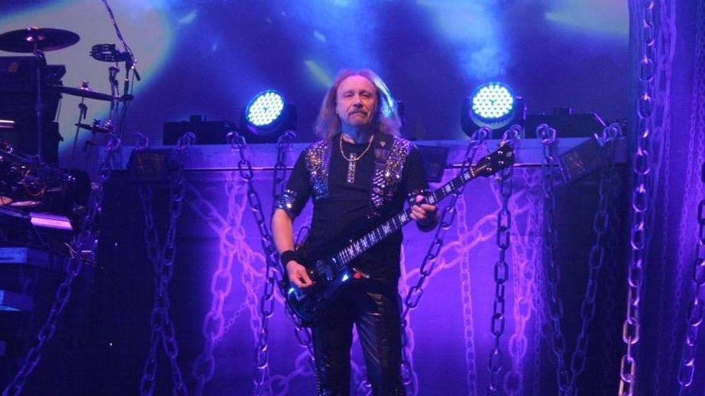 Foto: Ian Hill, el único superviviente de la formación primigenia de Judas Priest. (judaspriest.com)