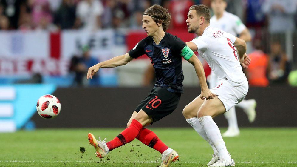 Foto: Luka Modric, durante las semifinales del Mundial de Rusia 2018   Reuters