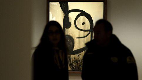 Miró asesina y viola la pintura en Madrid