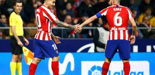 Post de La chispa de Correa y la vuelta de Koke alivian al Atlético de Madrid