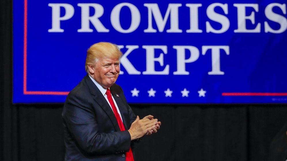 Foto: El presidente de Estados Unidos, Donald Trump. (EFE)
