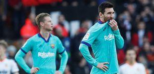 Post de El Barcelona de Setién no arranca y pierde su primer partido en Valencia (2-0)