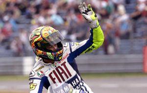 Rossi saldrá primero por delante de Dani Pedrosa y Jorge Lorenzo