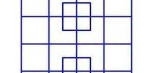 Post de El último acertijo visual: ¿eres capaz de saber cuántos cuadrados hay?