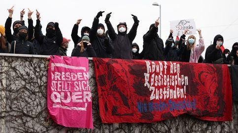 Protestas contra la ultraderecha alemana