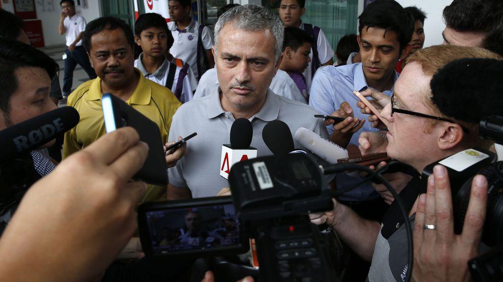 Foto: José Mourinho (Reuters)