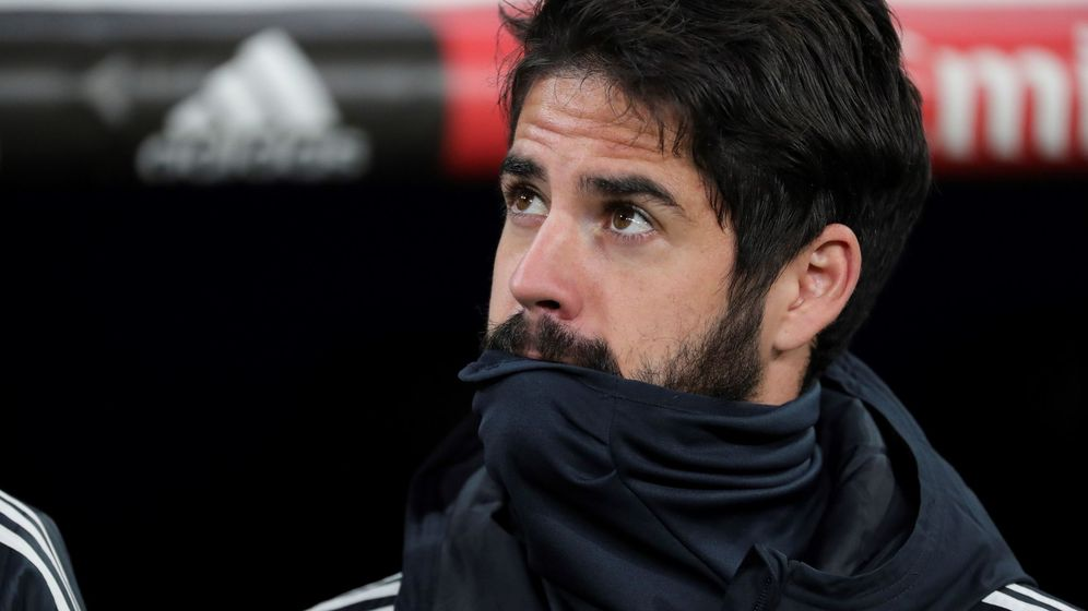 Foto: Isco también fue suplente en el partido de Copa del Rey contra el Leganés. (EFE)