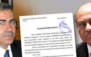 El socio de Díaz Ferrán queda libre tras presentar avales por 600.000 €