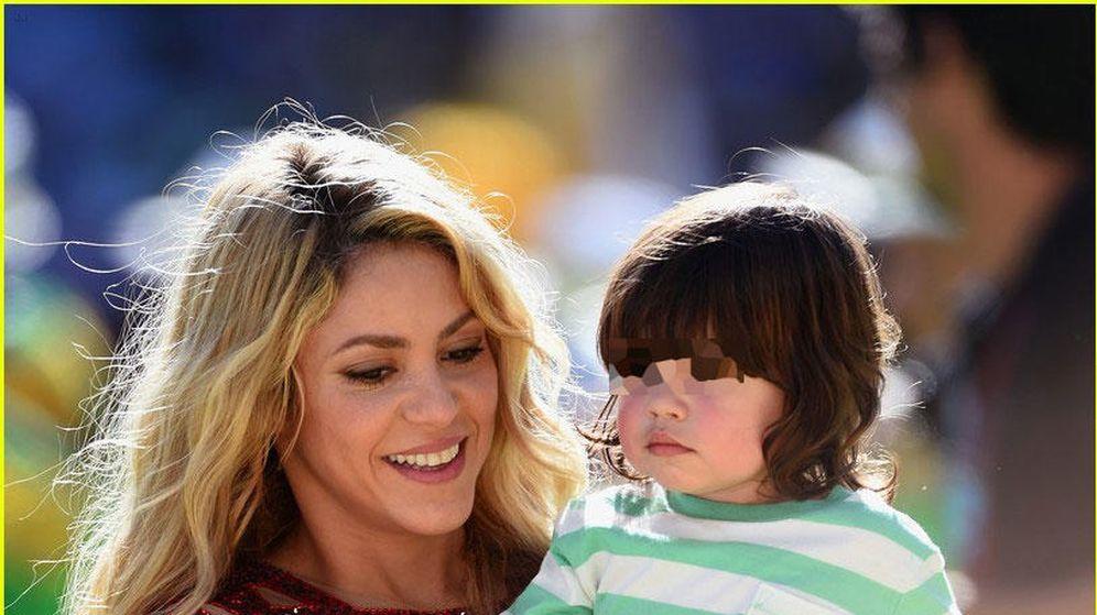 Foto: Shakira, junto a su hijo Milan Piqué Mebarak (Gtres)