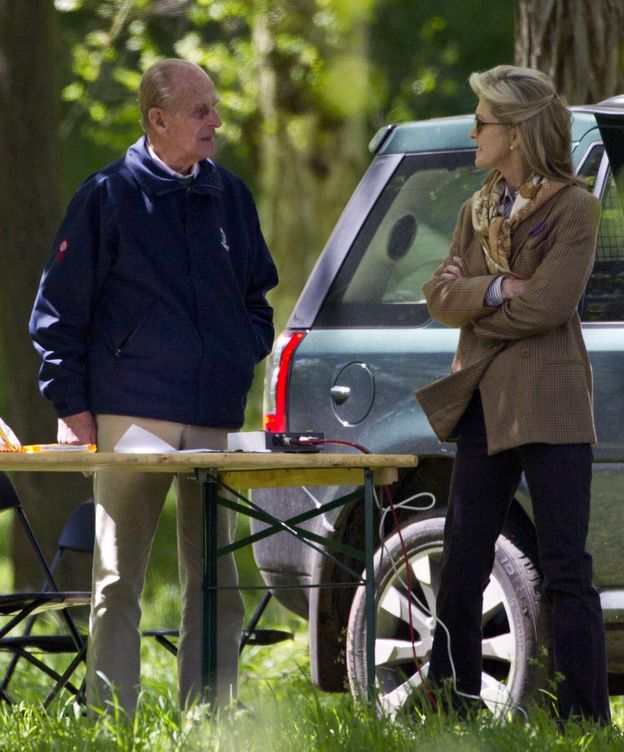 Foto: Felipe de Edimburgo junto a lady Penny en 2012 (Cordon Press)