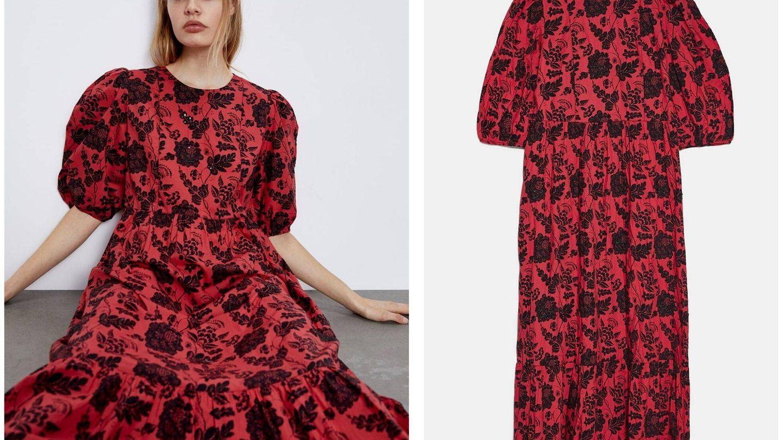El vestido super ventas de Zara (Cortesía)