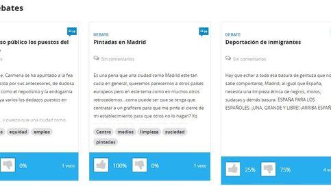 Amurallar España, Anabolizantes gratis: boicotean la web de Carmena
