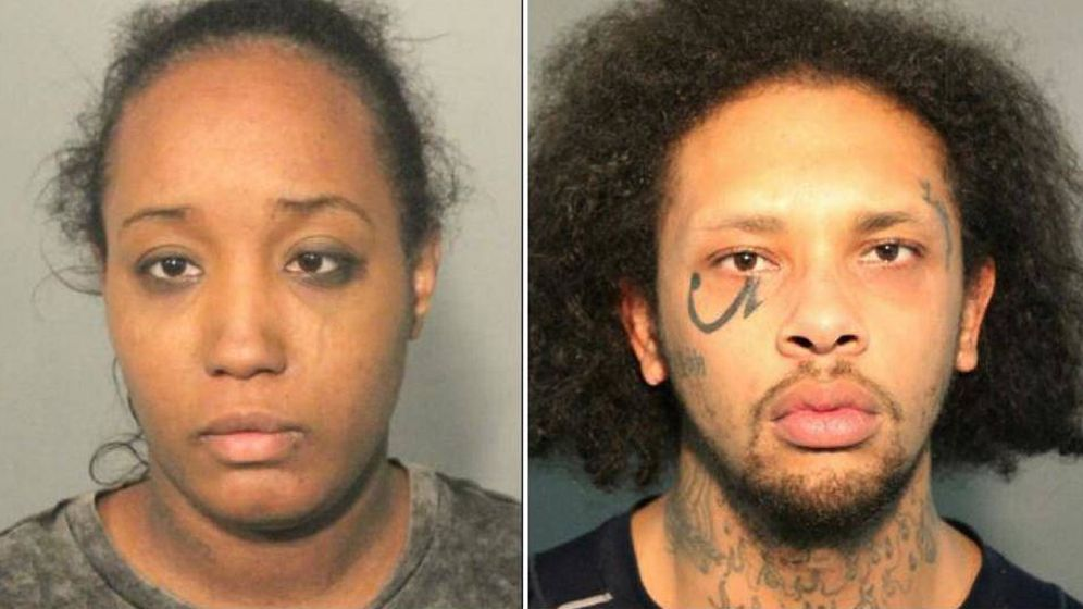 Foto: Ina Rogers y Jonathan Allen. (Solano County Sheriff's Office)