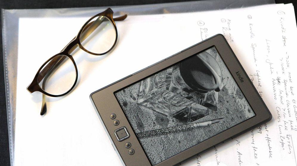 Foto: Libro electrónico que la compañía estadounidense Amazon ofrece. (EFE)