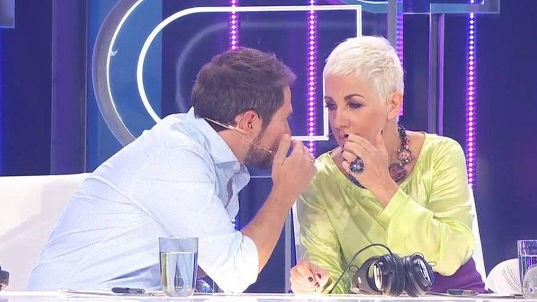 Ana Torroja deliberando con Manuel Martos en 'OT 2018'. (TVE)