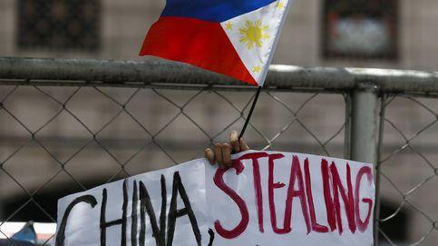 Protesta por la presencia china en aguas filipinas