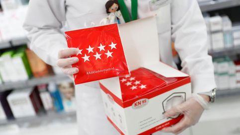 Madrid repartirá desde este miércoles más mascarillas gratis de tipo FFP2 en farmacias