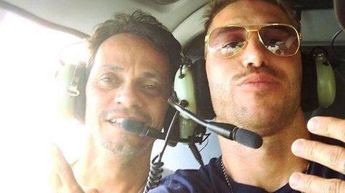 Sergio Ramos y Marc Anthony, en helicóptero y por los aires