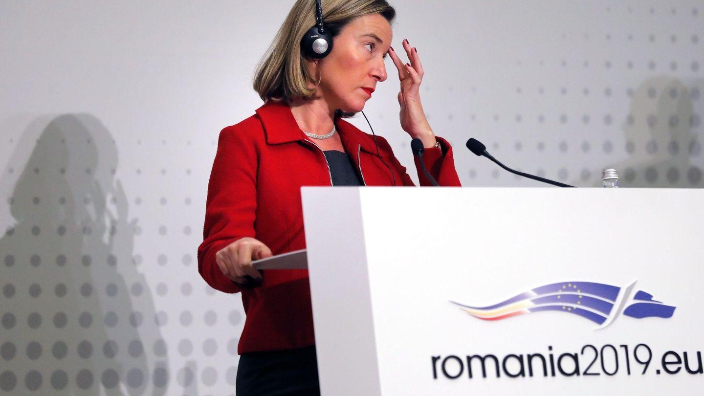 Federica Mogherini, jefa de la diplomacia europea. (EFE)