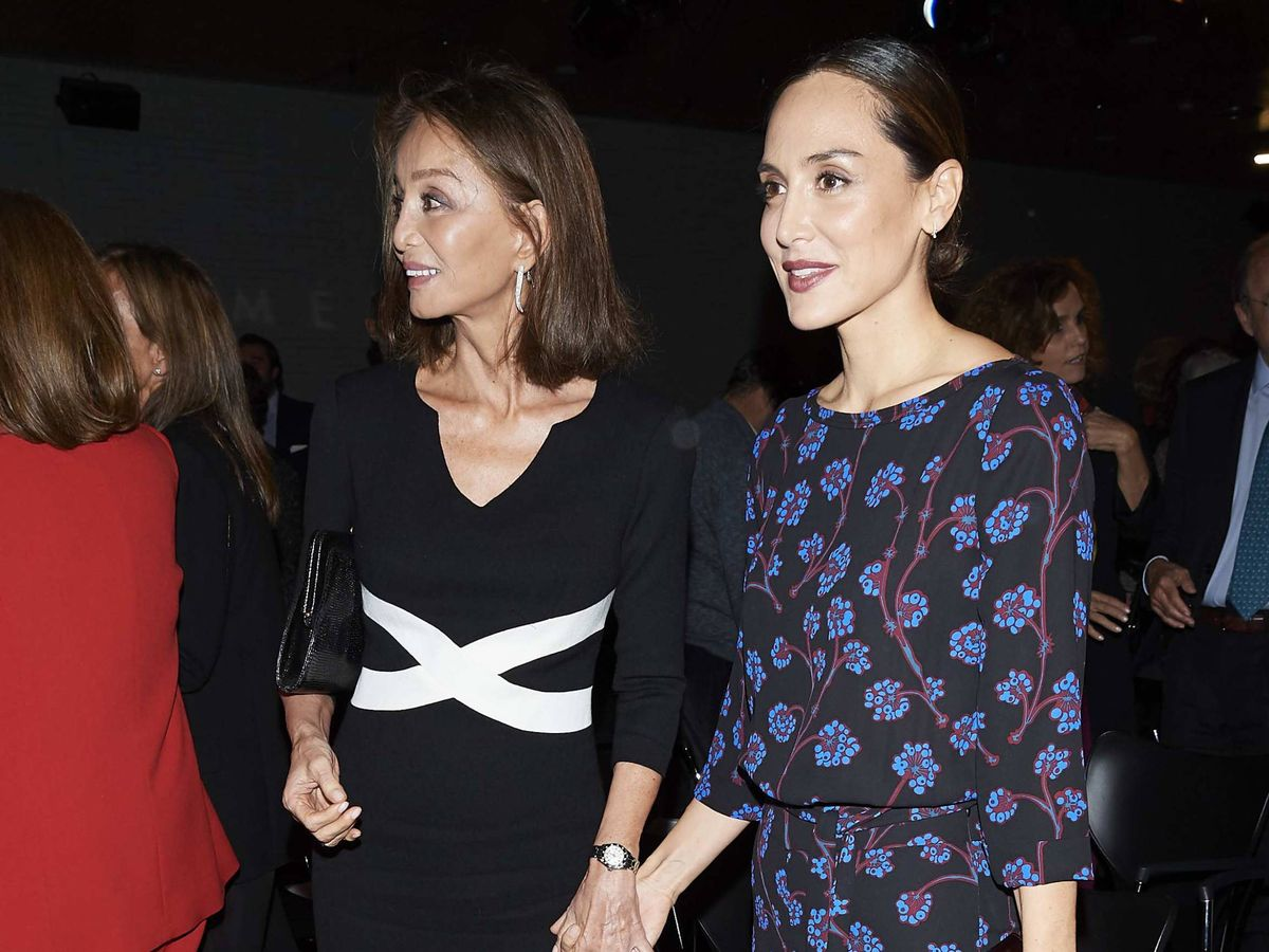 Foto: Isabel Presyler y Tamara Falcó, en 2019. (Getty)
