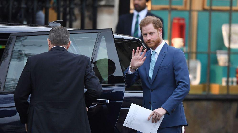 Foto: El príncipe Harry, en su última aparición pública. (EFE)