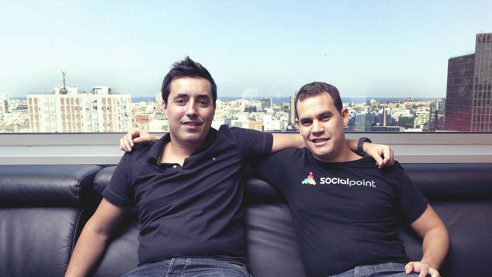 Foto: Andrés Bou (izquierda) y Horacio Martos (derecha), fundadores de Social Point.