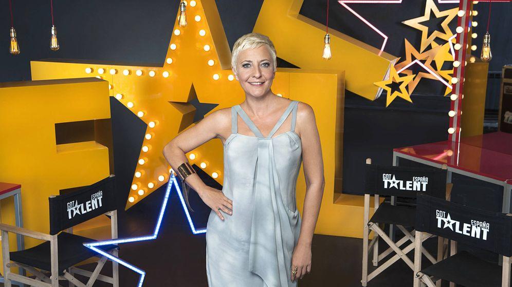 Foto: Eva Hache, jurado de 'Got Talent España 3'. (Mediaset)