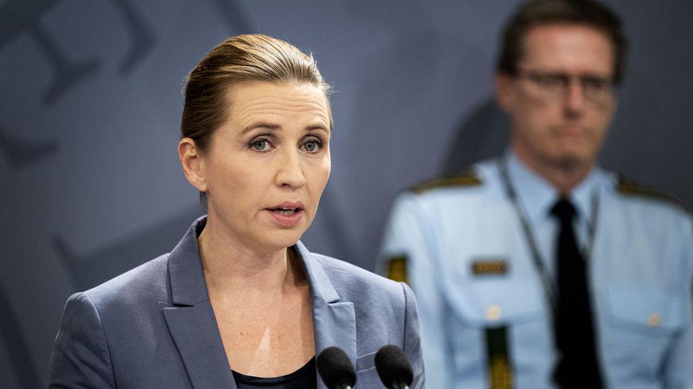 Foto: La primera ministra danesa, Mette Frederiksen. (EFE)