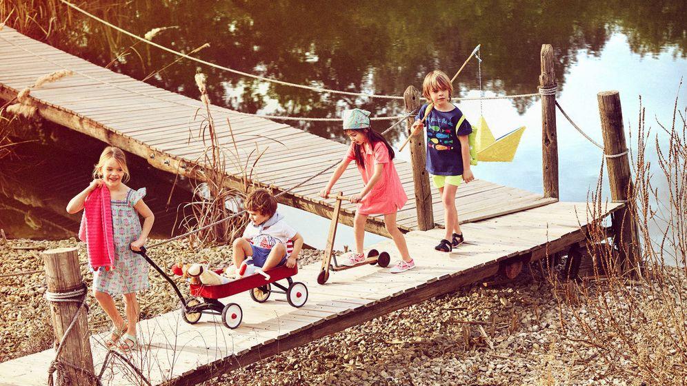 Foto: Los campamentos de verano pueden ser la mejor excusa para recuperar los planes en pareja. (Zara Home)