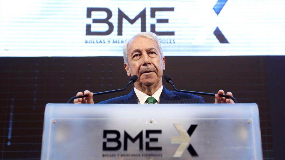 Foto: Antonio Zoido, ex presidente de BME. (EFE)