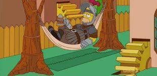 Post de Ya vimos en 'Los Simpson' el desenlace del último capítulo de 'Juego de Tronos'