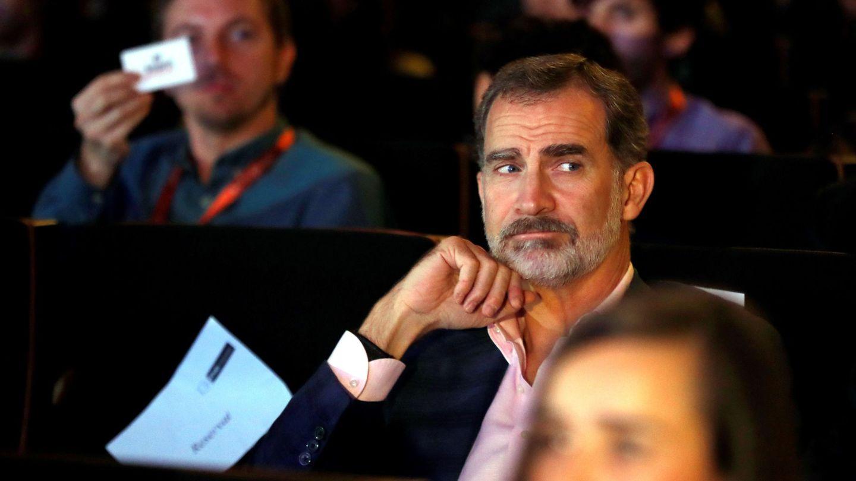 EL rey Felipe VI, esta semana en Barcelona en los X Premios Princesa de Girona. (EFE)