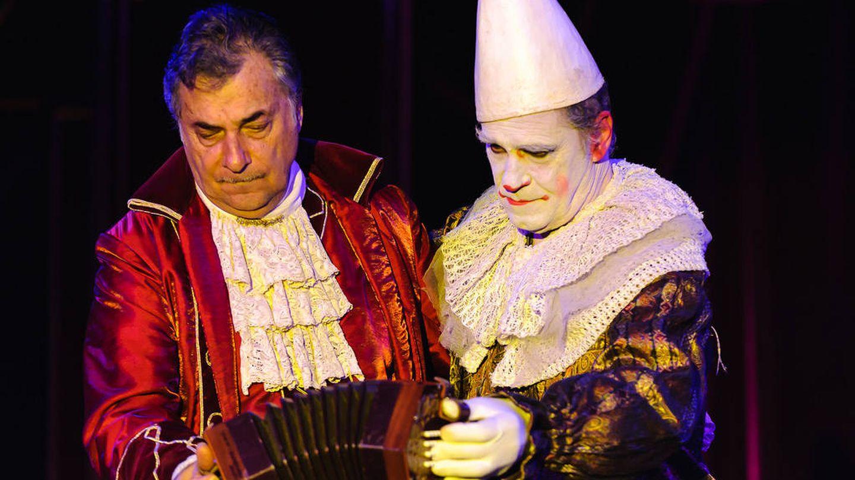 Los hermanos Carlos y Luis Raluy durante una actuación.