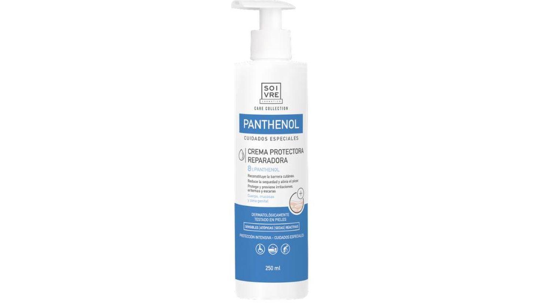 Loción Corporal Panthenol Intensivo en formato crema de Soivre Cosmetics.