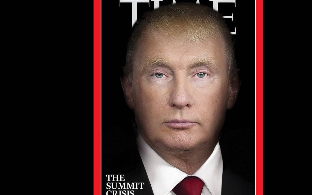 Foto: Portada de la revista Trump en el mes de julio
