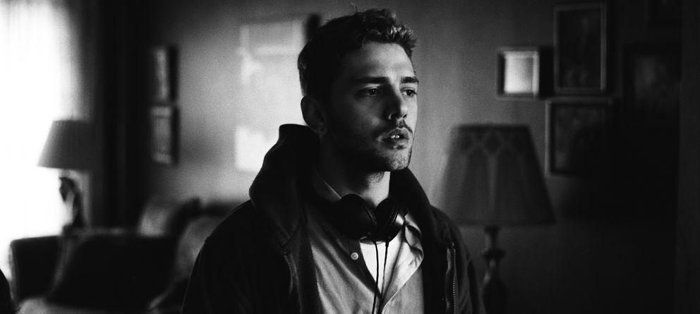 Foto: Xavier Dolan durante el rodaje de 'Mommy' (Shayne Laverdière)